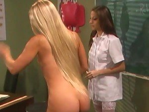 Nurse Jolean Gets An Enema From The Sexy Babe Jenna Haze