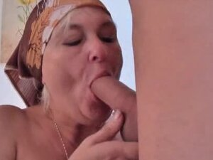 BBW Granny Sucks & Fucks that stud so hard