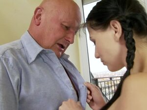 The Dirty Old Boss Finally Fucks The Hot Teen Secretary