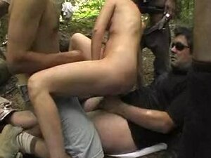 erica gangbanged in the woods