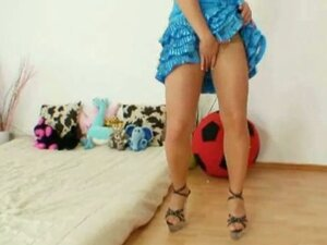 Blonde Bibi Fox pantyhose fetish masturbation