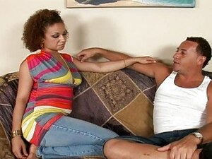 Curly redhead latina Carmella Bright picked up