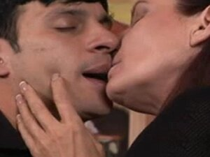 Mature Hot Mom Seduced By Young Waiter