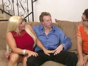 Filthy Minded Couple Introduce The Babysitter To Fucking