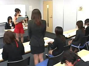 Asian School Girls Learn How To Give A Proper Handjob