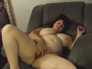 My big tit large bewitching woman wife playing