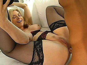 Insane Hardcore Sex With The Blonde Milf Nina Hartley