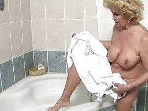 Busty granny getting fucked pretty hard