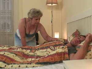 Wife finds her man fucking her mom