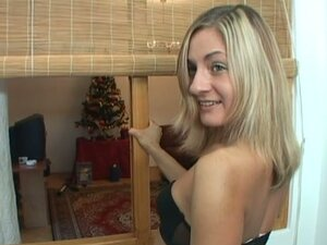 New bunny Greta is a blond honey with a hungry pussy