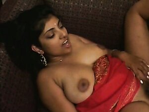 Indian brunette babe fucks her friend in the hotel room.