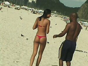 Brunette young babe is picked up on the beach. Hot sex in a hotel room