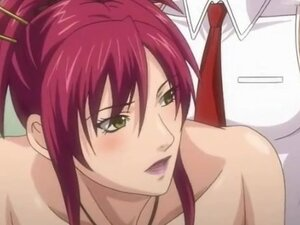Redhead hentai girl fucked in soaking wet cunt