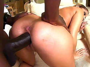 Monster Cock Action For A Teens Tight Pussy
