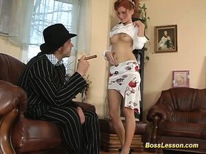 red head Teen Wants A Huge Cock In Her Tight Ass