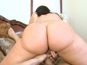 Shameless bbw whore with big fat butt Kelly Divine rides small dick