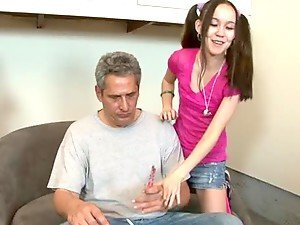 Step Father Fucks His New Wife's Teenage Daughter