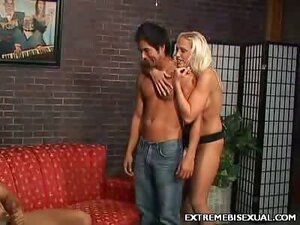 Bisexual Strap On Shagging
