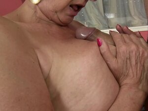 Sila gives a blowjob and a titjob and gets her pussy drilled