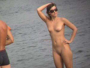 Girls get naked on the nude beach