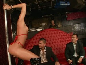 Bachelor party with a difference as two guys fuck a bitch
