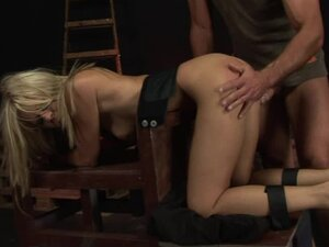Trinity gets tied up and enjoys hot anal sex in amazing BDSM clip