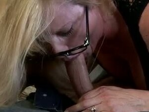 Big ass glasses milf mauled