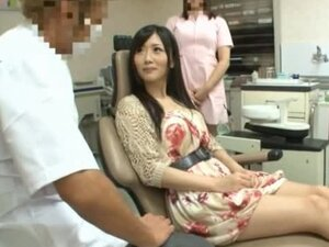 Asian Stunner Gets Fucked By Her Dentist & Assistant