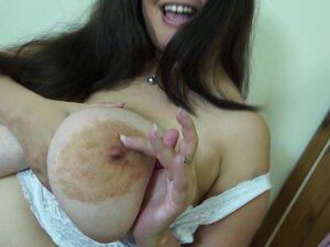 Huge breasted British mom with hungry cunt