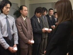 Dirty japanese gets filled with cum