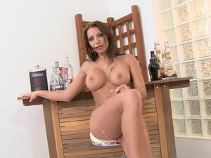 Pretty Candy Strong loves to toy her tight pussy