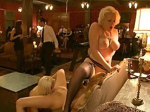 Hardcore Sex And Domination In Hot BDSM Orgy Video