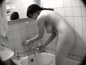 Big tits in the shower all wet