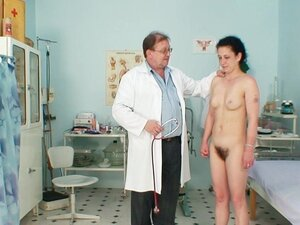 Hairy pussy needs gyno exam today