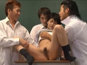 Kinky Asian student gets some severe fucking action