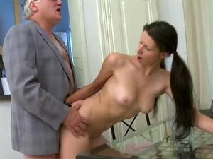 Small cock old man nailed by sweet cock sucking Simona