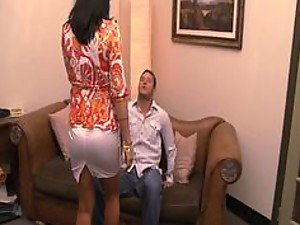 Busty MILF Zoe Holloway Banging In Office