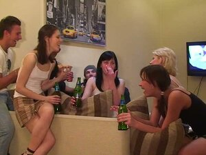 A Normal House Party Takes A Kinky Turn Into An Orgy