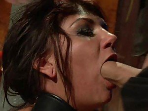 Gorgeous Babe Chained and Fucked in BDSM Porn Clip