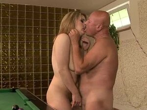 Old fart George and his sexy bitch Nya are fucking