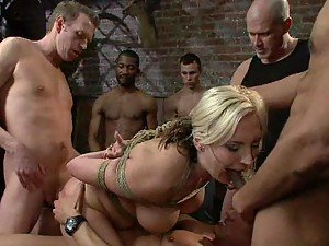 Gangbang Loving Freak Does It Again