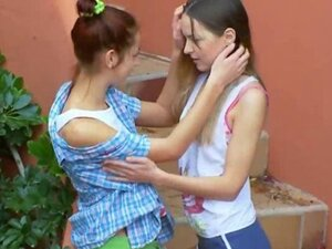 Romantic lesbo adventure from czechrepublic of 18 years old girls