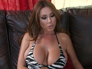 Horny big titted MILF
