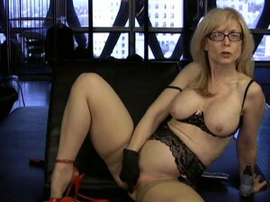 Mature Nina Hartley is horny