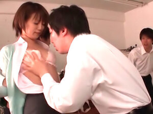 Horny teacher Saki Ninomyia gets nailed at school