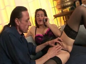 Italian Brunette Threesome Terzetto
