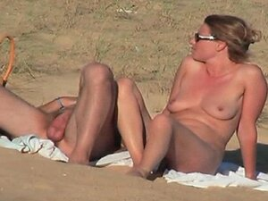 hidden vid of hot French couple on the beach part 6