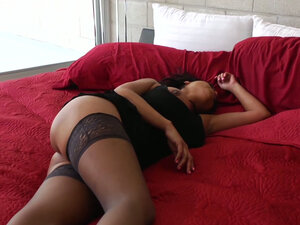 Super busty girl Priya Anjali Rai gives cock massage