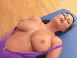Big Boob Aerobics with three super hot babes