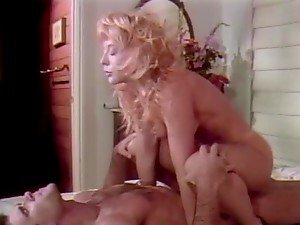 Desirable hottie Nina Hartley gets fucked so hard